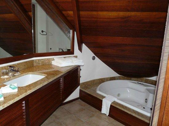 Le Saint Alexis Hotel & Spa: salle de bain
