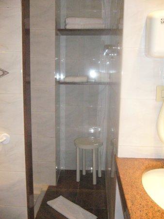 Hotel Torino Wellness & Spa: Bagno della camera