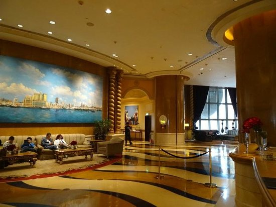 Sofitel Macau at Ponte 16: Lobby area at the Sofitel