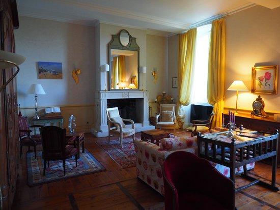 La Chartreuse du Bignac : le salon
