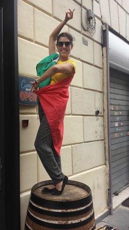 Angrypig Birretta e Porchetta: Miss Liberty from Spain