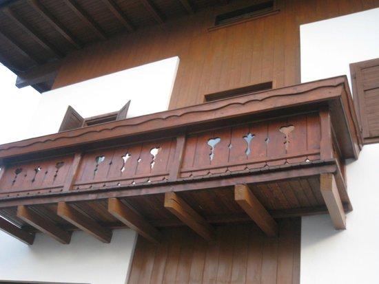 Villa Romagna: i balconi