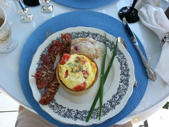 Blue Heron Inn - Amelia Island : breakfast