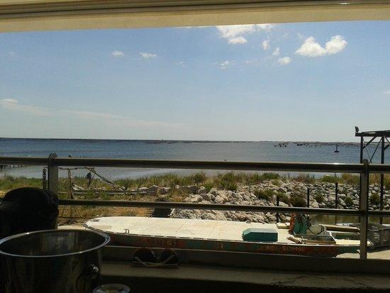 La Ferme Marine : vu sur l'étang de Thau