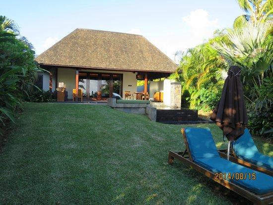 Four Seasons Resort Mauritius at Anahita: Beach villa #18X