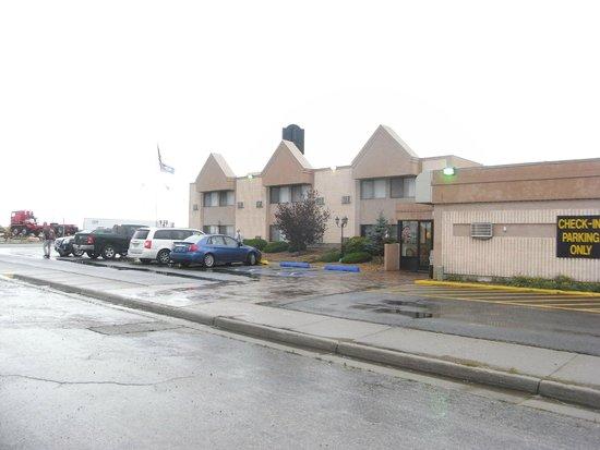 Motel 8 Laramie : vue de l exterieur