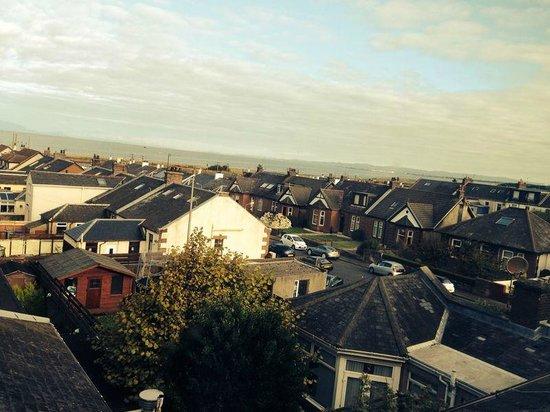 The Beechwood Guest House : La veduta dalla nostra camera, con il mare sullo sfondo