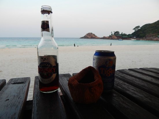 Redang Holiday Beach Villa: смеркалось