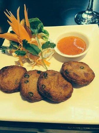 The Britannia Thai Restaurant: Thai fish cakes