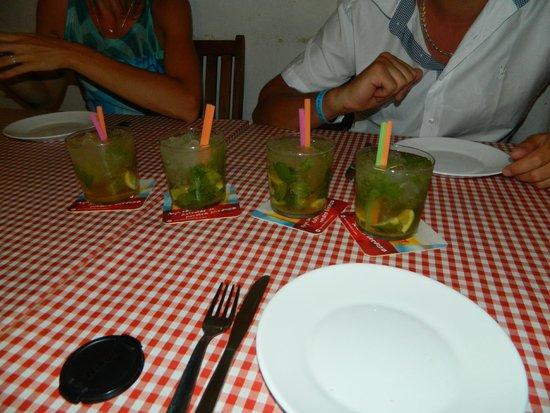 Pincha Cabra Tapas Bar: très bon mojito