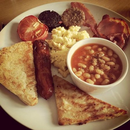 Troy Hall Bed and Breakfast: Delicious full Irish breakfast!