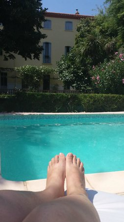 Les Buis: Piscine/Jardin