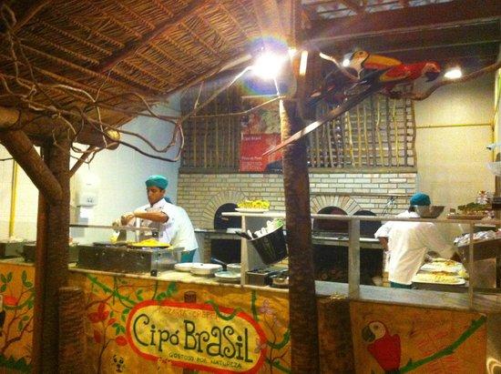 Cipo Brasil: Área do Restaurante