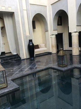 Riad K : il patio