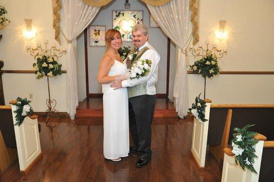 Shalimar Wedding Chapel Bonnie Al 8 19 14