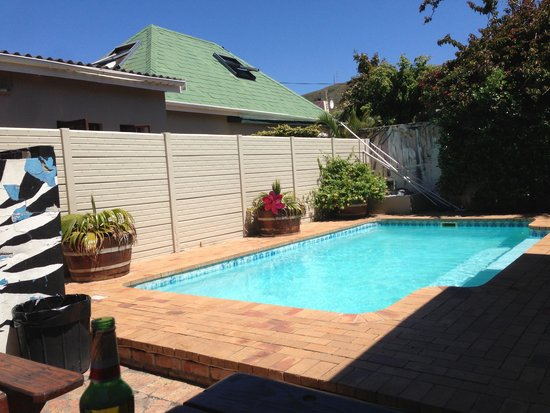 Hermanus Backpackers: the pool