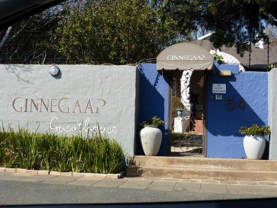 Ginnegaap Guesthouse: esterno
