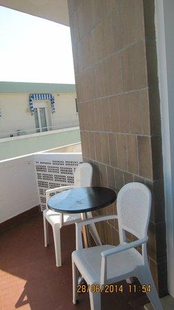 Hotel Acapulco : Балкон