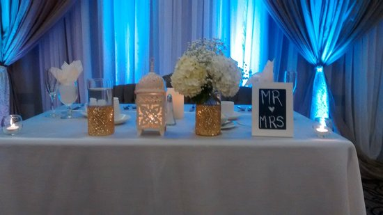 Four Points by Sheraton London: head table