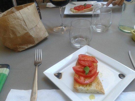 Osteria del Borgo: bruschetta