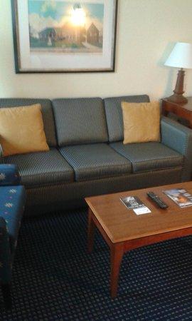 Residence Inn by Marriott Boston Woburn: divano letto