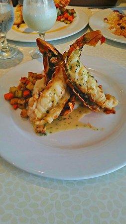 Kasavista: Lobster in Garlic and Cilantro Sauce