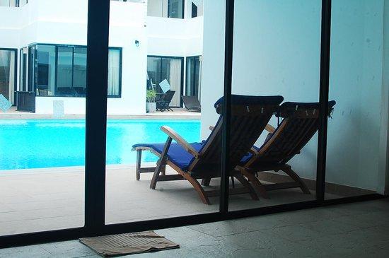 Sai Naam Lanta Residence: lounge area
