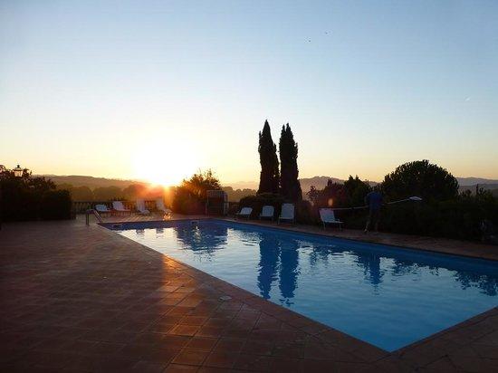 B&B Villa Cardeto : Sonnenaufgang