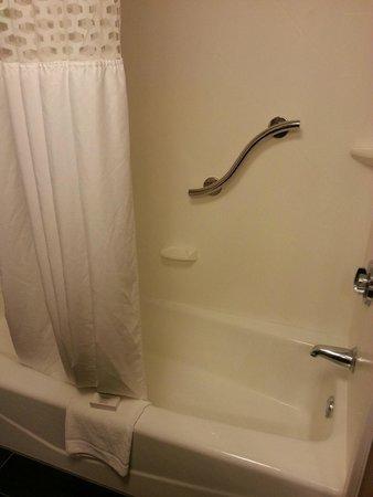 Hampton Inn Jonesville/Elkin: Shower
