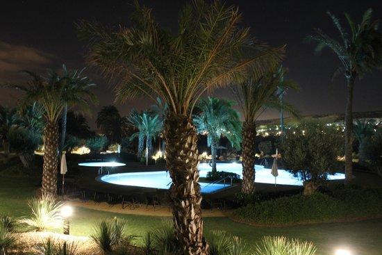 Hotel Golf Almerimar: Vista desde terraza habitación