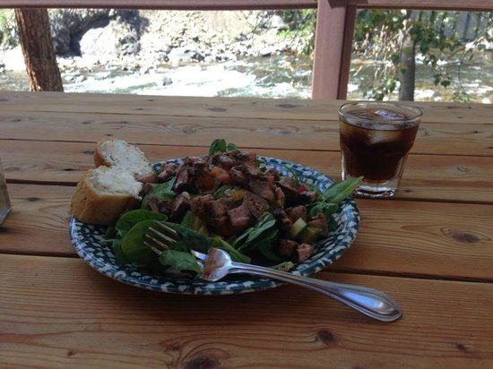 River's Edge Resort : Lunch on the deck