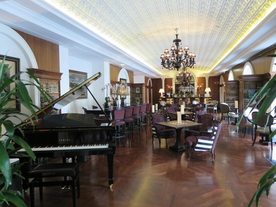 Piano Bar Picture Of InterContinental Porto Palacio Das Cardosas Porto T