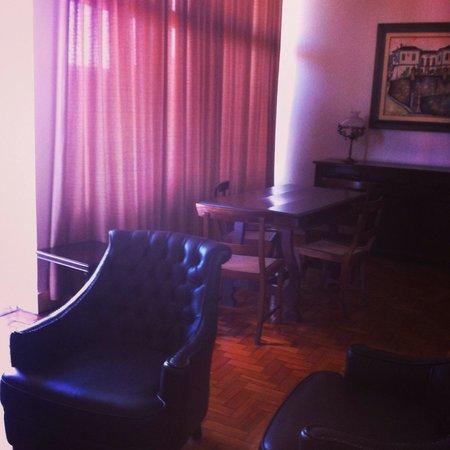 Grande Hotel de Ouro Preto: Sala da suíte JK