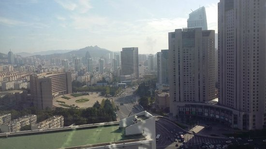 Shangri-La Hotel Qingdao: View from the room