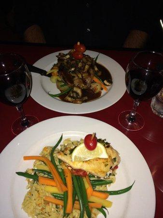 Blackbird Cafe: our meal