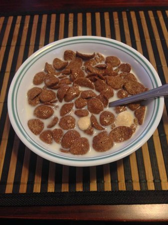 Arcadian Bed and Breakfast: Classic Koko Crunch breakfast cereal. Loved it.