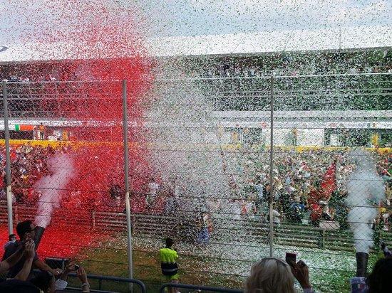 Autodromo Nazionale Monza: Festa per la premiazione post-Formula 1