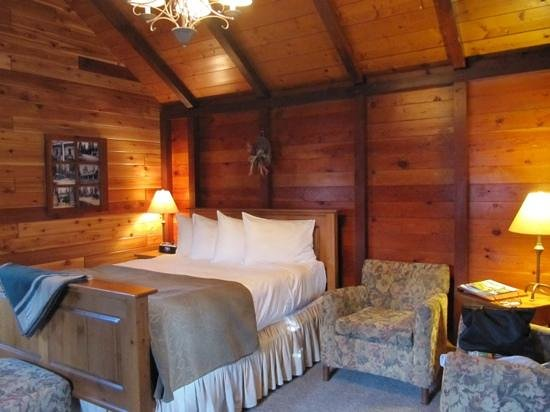 Paradise Lodge & Bungalows: Cozy Cabin with Creature Comforts