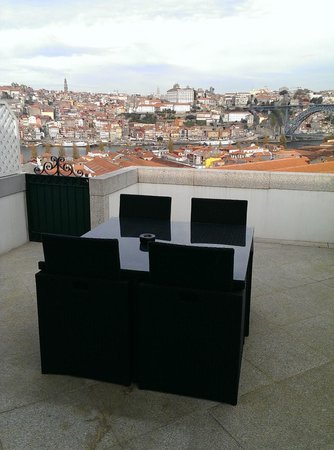 The Yeatman: View of Porto from room's terrace