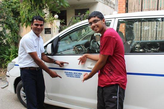 Rajasthan Four Wheel Drive Pvt. Ltd.: Deepak