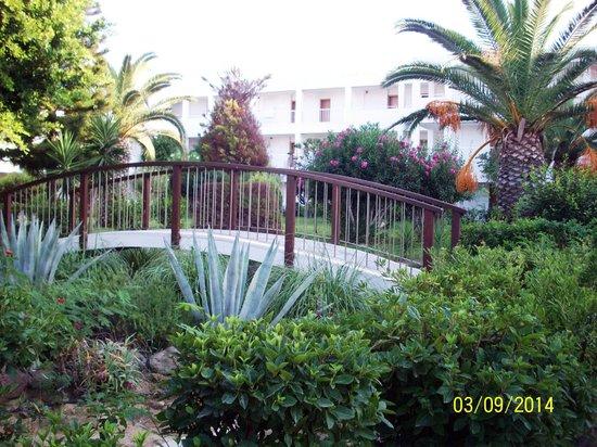 Lakitira Resort & Village: giardino