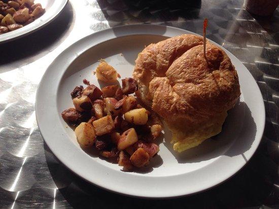 Deck Restaurant At Sea Club: The Bahama Croissant