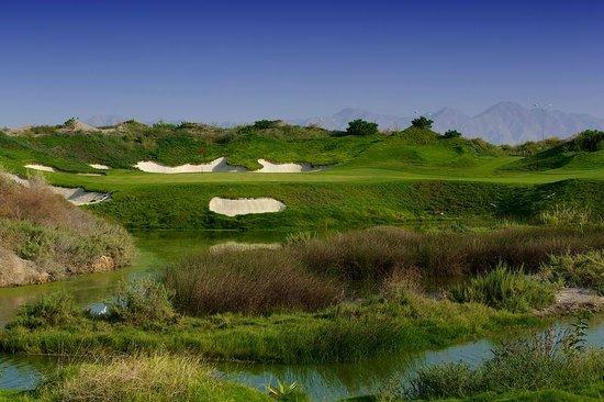 Almouj Golf : Al Mouj Golf, 4th green