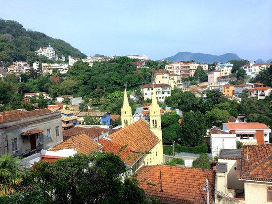 Santa Teresa Hotel RJ MGallery By Sofitel: View from my window