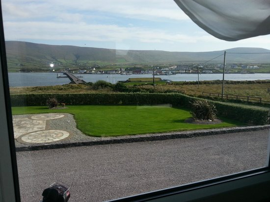 Carraig Liath House : View from the bedroom