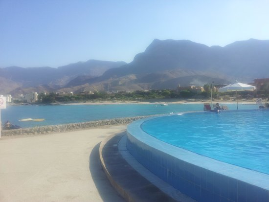 Movenpick Resort El Sokhna: amazing view from the pool