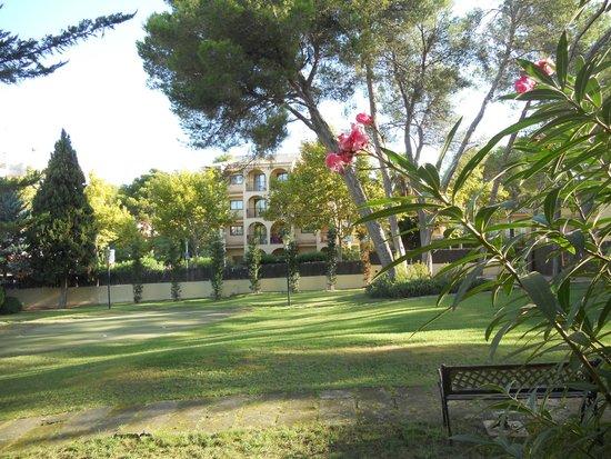 Hotel Bahia: jardin