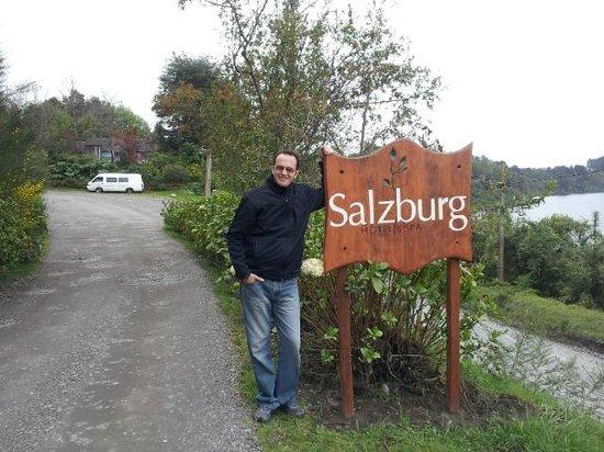 Hotel Salzburg: Entrada al hotel