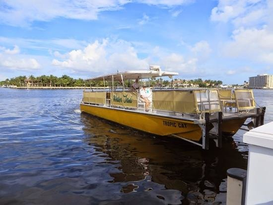 The Pillars Hotel Fort Lauderdale : Water taxi pick up from hotel