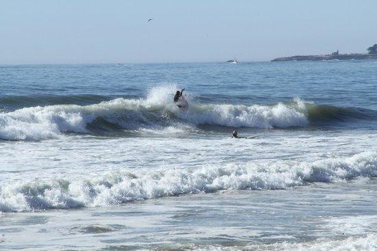 Pleasure Point Beach And Away